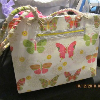 Hand made Butterfly Tote bag