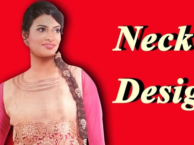 Beautiful kameez  Neck design (easy Method)   cutting and stitching in bangla tutorial