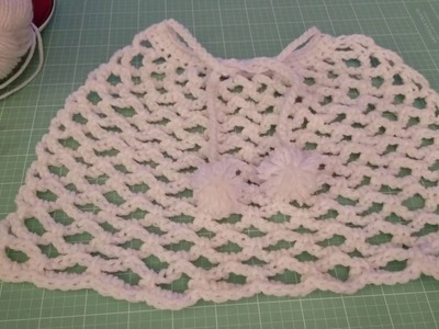 Crocheted cape American Girl Doll