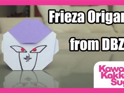 DBZ Frieza Origami - How to Fold (HD)
