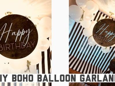 DIY Boho Balloon Garland Arch   Easy Event Decor That Makes A Big Impact