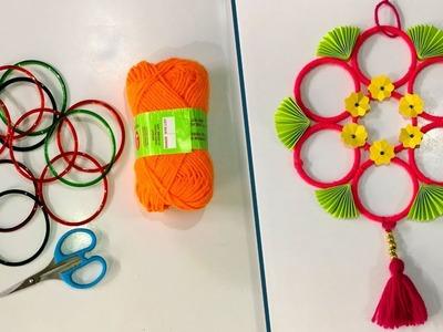 DIY || Old bangles reuse idea  | Best craft idea | DIY arts and crafts | Amazing craft idea