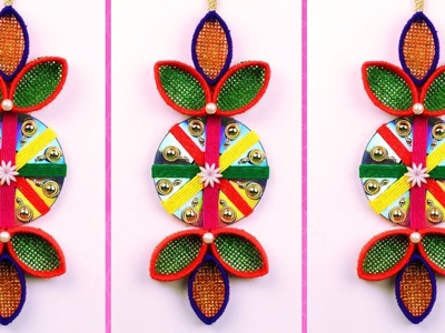 DIY Wall decor with cd and plastic bottle - Best use of cd and plastic bottle - Handmade craft