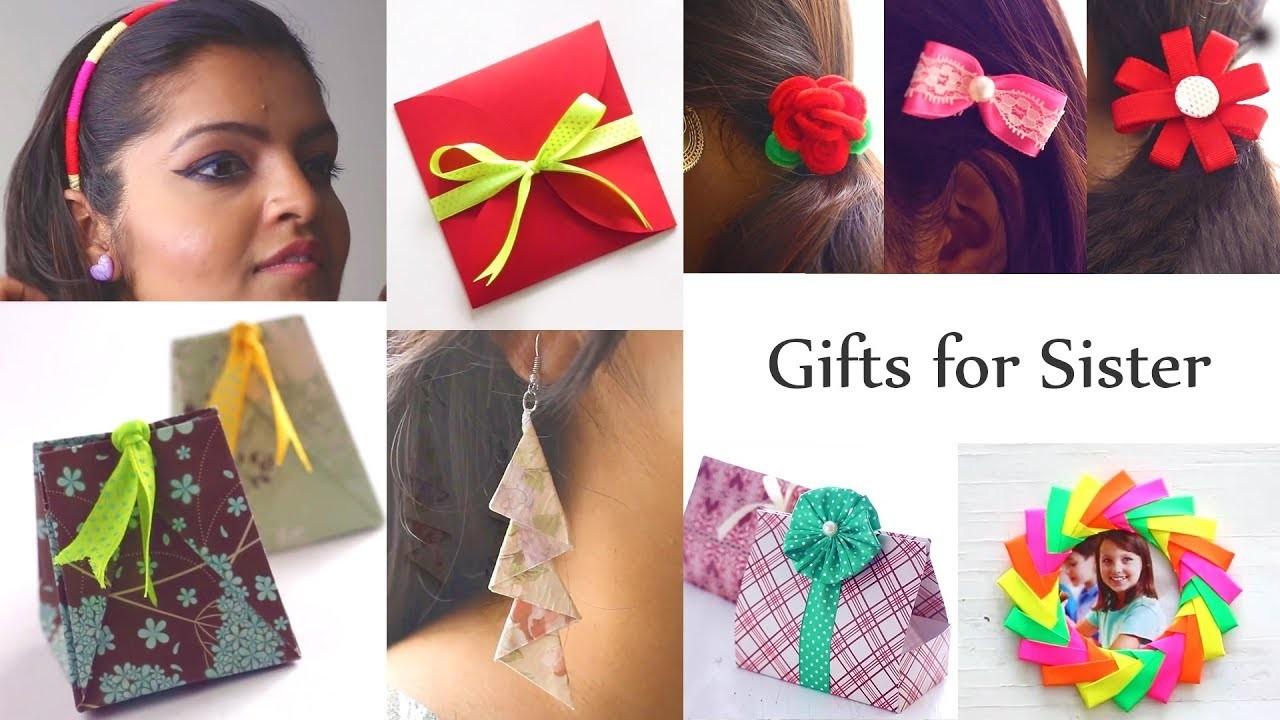 Gifts for Sister | Raksha Bandhan Gifts| Easy Gift Ideas