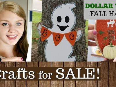Halloween Door Decor For Sale | Opening My Etsy Shop | Fall Decor Dollar Tree Haul | KraftsbyKatelyn