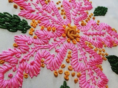 Hand Embroidery: Daisy Stitch
