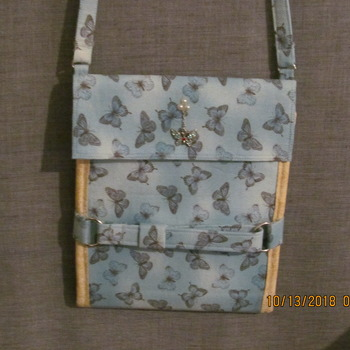 hand made Butterfly cross bag