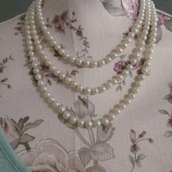 Hand made Pearl Necklace