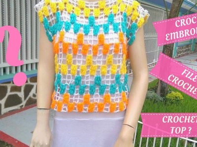 How to Crochet Top Easy for Women Tutorial ????????