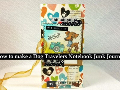 How to make a Dog Travelers Notebook Junk Journal