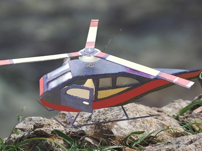 How to Make a Helicopter DIY - Powered Helicopter at Home