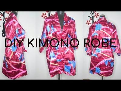 How to: MAKE A KIMONO ROBE in 45 mins