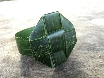 How To Make A Watch From Coconut Leaves | Khmer Traditional