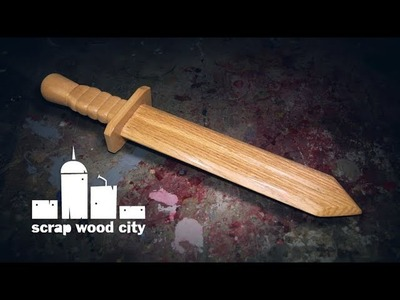 How to make a wooden toy sword