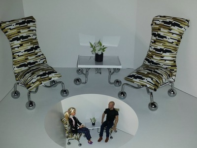 How to make Doll Chairs and Table