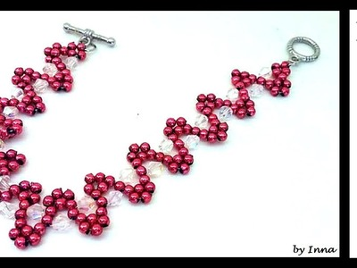 How to make gorgeous beaded bracelet