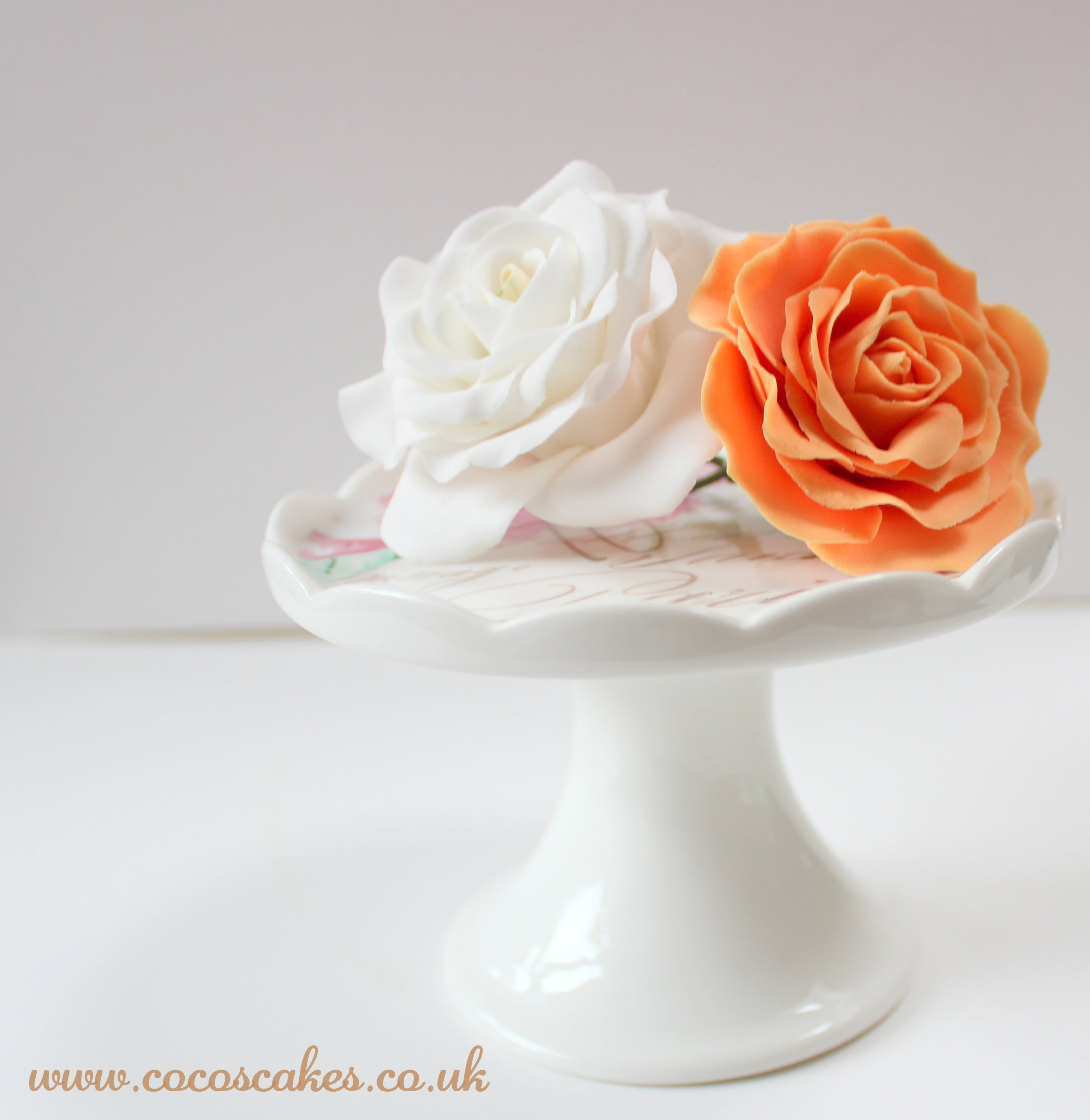 How to Make Spring Roses Tutorial (by Guest Blogger - Dhruti Patel of Coco's Cakes)