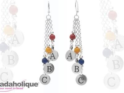 How to Make the ABC Earrings