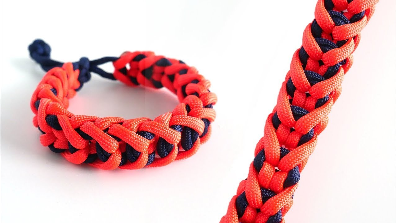 How to Make the Stitched Monkey Bar Mad Max Paracord Bracelet
