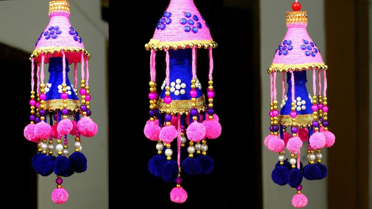 How To Make Wind Chime Wall Hanging At Home Diy Room Decor Jhumar