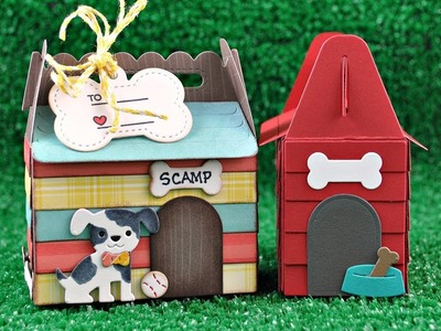Intro to Scalloped Treat Box Dog House Add On