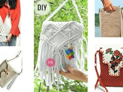Macrame Bag Collection by Macrame Magic Knots
