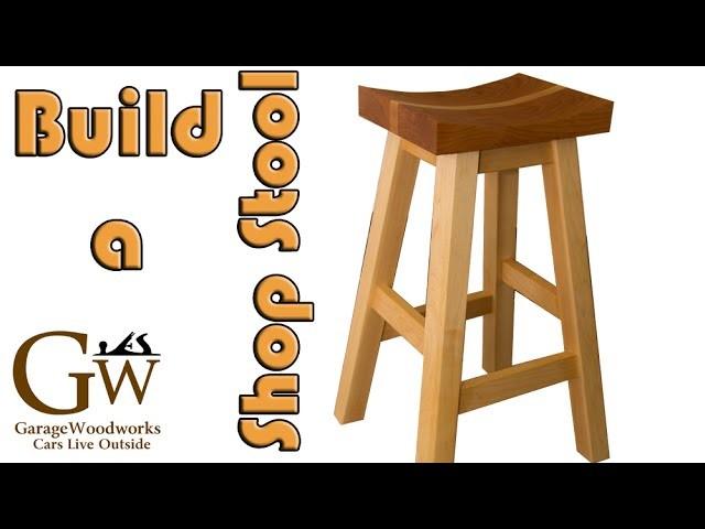 Make a Shop Stool (Part 2 of 2)