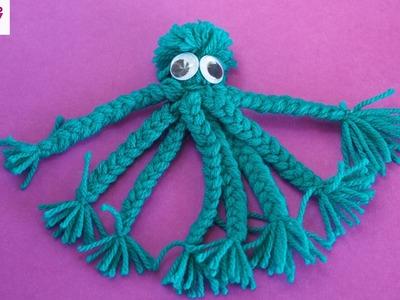 Make a Yarn Octopus.