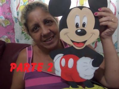 Mickey em EVA ( Sandra Ciuffo ) Parte 2