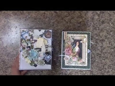 MINI ALBUMS FOR SALE ENCHANTED TEA AND PORTRAIT OF A LADY   SHELLIE GEIGLE