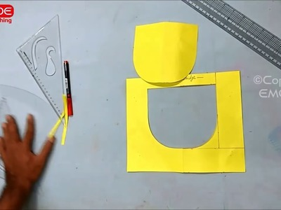 Neck design cutting and stitching for beginners in hindi.Tips and Tricks