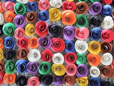 Paper Roses Backdrop DIY | How To
