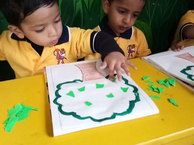 Playgroup : mosaic art easy to do