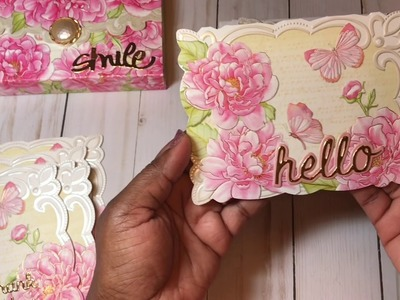 Saturday Morning Crafts #1 Altered Card Boxes & Anna Griffin Mother's Day Cards