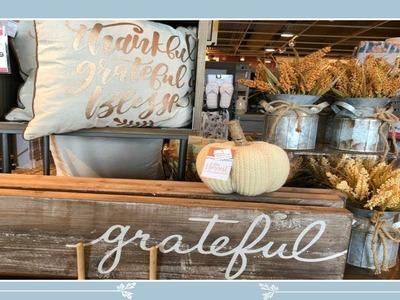 Shop With Me At Kirkland's! Fall.Autumn Home Decor 2018