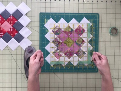 Squaring Up Granny Square Quilt Block Tutorial