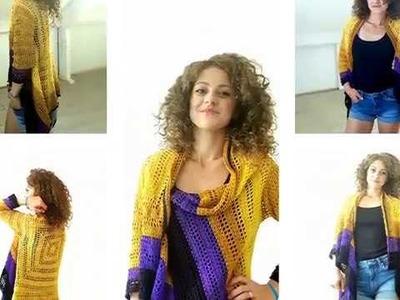 Sunny Cardi Crochet Tutorial