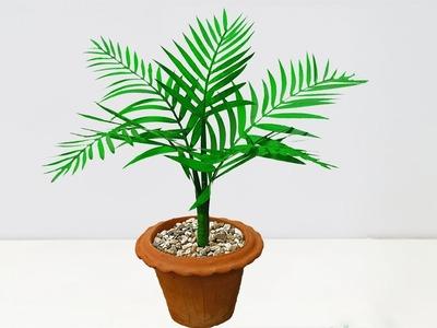 চমৎকার আইডিয়া || How to make artificial plant for home decoration
