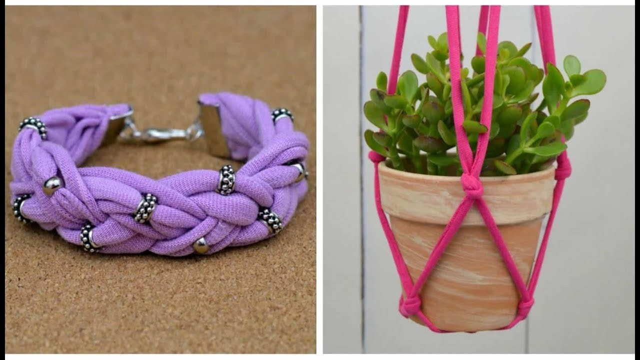 10 Amazing Diy Ideas Craft Reuse Old Clothes Diy Craft From Old