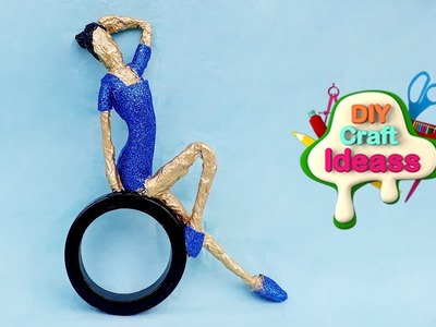 10 Minute Easy Recycling Ideas you must try |Amazing  Doll made by waste | diy craft ideas
