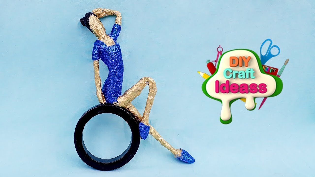 10 Minute Easy Recycling Ideas you must try  Amazing  Doll made by waste   diy craft ideas