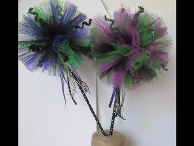 13 Haunted Projects of Halloween #3~ Halloween Fairy Wands 2018