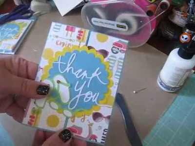 2018 Craft Fair.Show Ideas #4~ Tutorial  Thank You Card Packs