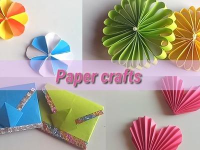 4 Amazing paper crafts. DIY craft ideas. Art all the way