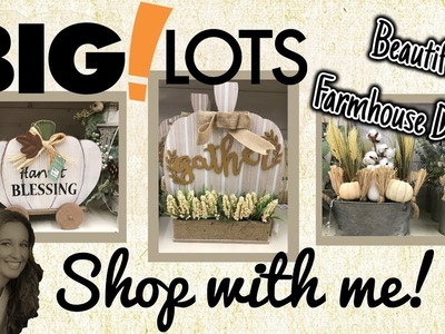 BIG ! LOTS Shop with Me | BEAUTIFUL Farmhouse Decor | Harvest Decor
