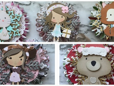 Christmas In July | Handmade Ornaments | Polkadoodles Project | Process Video