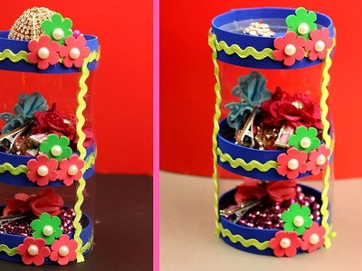 DIY Crafts: Best Out of Waste Crafts - How to Use Waste Plastic Bottle - Organizer From Old Bottle