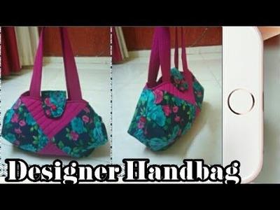 DIY : Designer Handbag No.8 Tutorial By Anamika Mishra. .