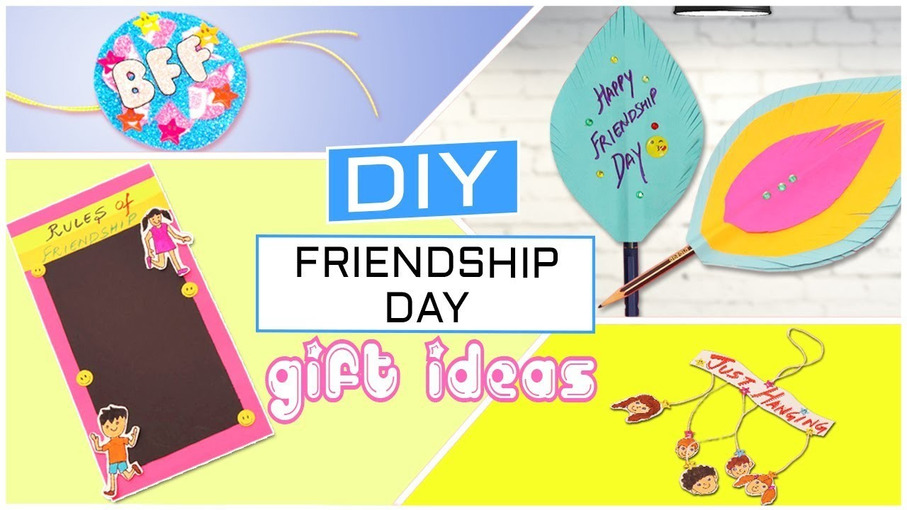 Diy Easy And Quick Friendship Day Gift Ideas Craft For Friendship