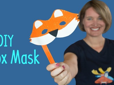 DIY Fox Mask | Art and Craft for Kids